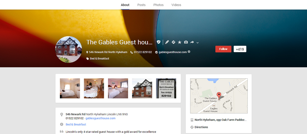 Enhance Your Google+ Local Listing